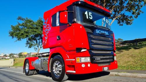 Scania R440 4x2 Toco Automático Completo 2015