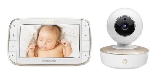 Imagen 1 de 9 de Monitor De Video Para Bebés Motorola Cámara Hd De Gran Con Y