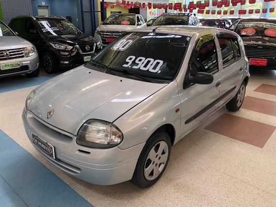 Renault Clio Hatch Rn 1.0 8v 4p 2000 * C/ Ar Condicionado