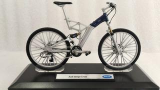 Bicicleta De Colección, Escala 1/10, Audi Desing Cross.