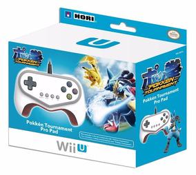 Controle Hori Pokken Tournament Pro Pad Branco Switch Wii U