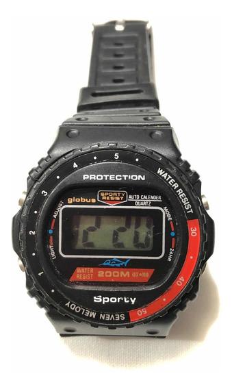 Relógio Digital Antigo Popular Anos 80 Raro