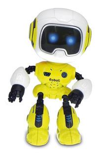 Robot Warrior Interactivo 11 Cm Habla Luz Y Sonidos Original