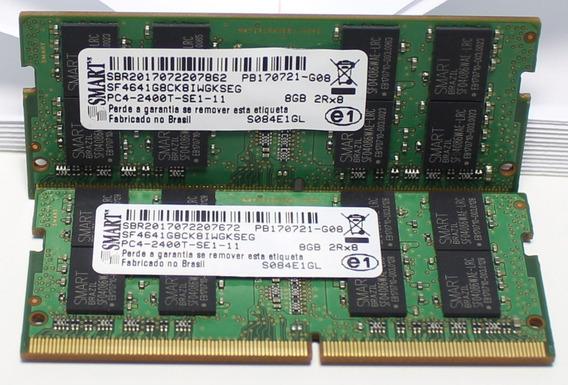 Kit Memória Ddr4 2400mhz 16gb 2x8gb Notebook
