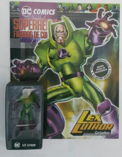 Dc Comics Lex Luthor La Nacion 20 Resina Grijalbo No Plomo