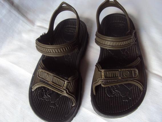 Sandalia Papete Scaleno Infantil Tamanho 31