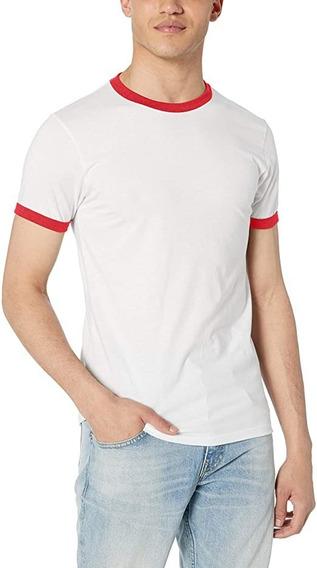 Playera - Camiseta Ringer Aesthetic Vintage Tumblr Retro