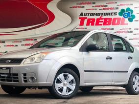Ford Fiesta 2008 Automático, Llantas Nuevas Factura Original