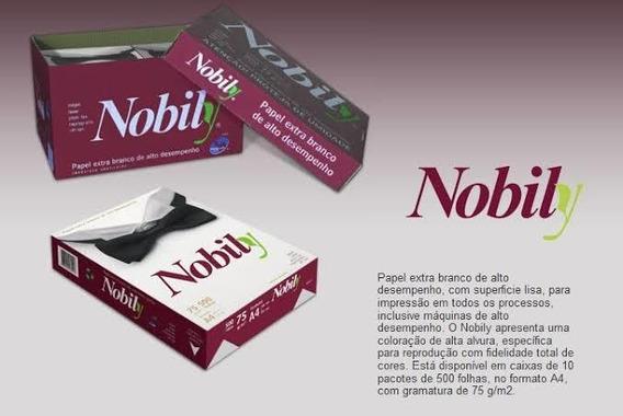 Papel Sulfite Nobily 5000 Folhas