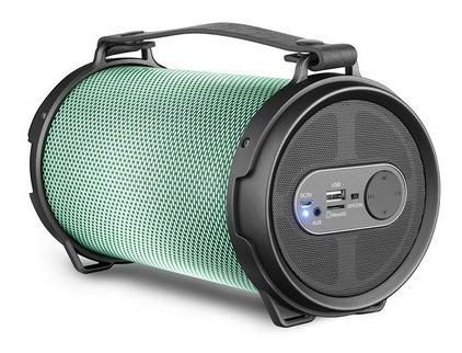 Caixa De Som Portátil Lenoxx Speaker Boom Leds Bt550 - 40w Rms, Bluetooth, Usb, Rádio Fm