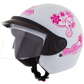 Capacetes Liberty 3 For Girls Tamanho 60 Branco Pro Tork ´