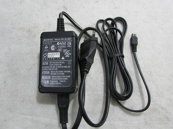 Carregador Sony Modelo Ac-l200c 8,4v 1,7a Seminovo