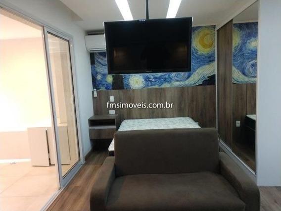 Studio Para Para Alugar Com 1 Quarto 1 Sala 38 M2 No Bairro Consolação, São Paulo - Sp - Ap284776ms