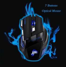 Gaming Mouse Ergonomic Computer 7 Button Mouse For Pro Gamer