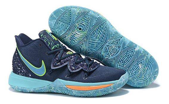 Tenis Nike Kyrie 5 Azul+ Obsequio