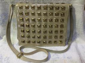 Bolsa De Couro Dourada Antonella !!!