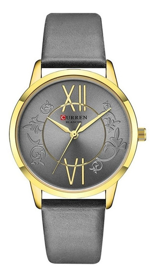 Relógio Curren Feminino Analógico C9049l Luxo