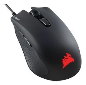 Mouse Gamer Corsair Harpoon Rgb 6000 Dpi Usb 6 Botões