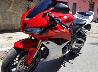 Cbr 600 Rr Vermelha