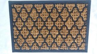 Capacho Entrada Grande Tapete Fibra Coco Varios Modelos