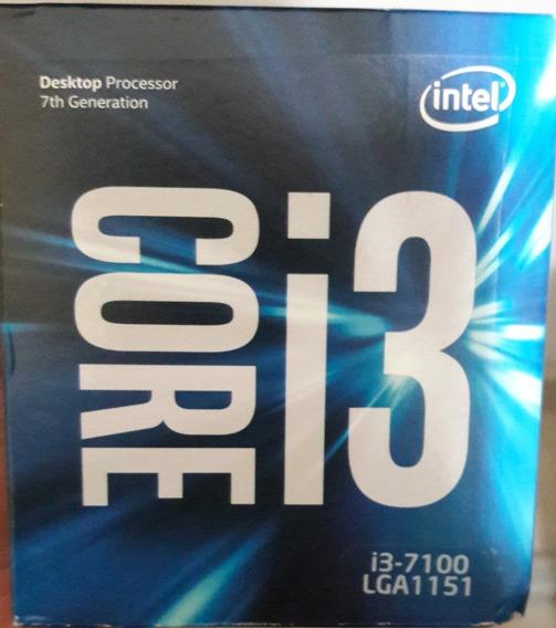 Processador Core I3-7100 Box 7ªg Soquete Lga1151