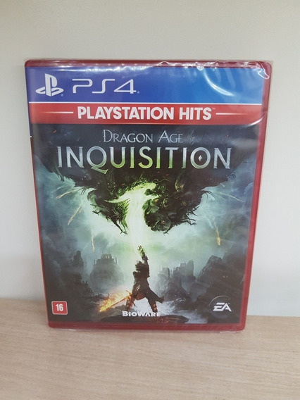 Dragon Age Inquisition Ps4 Novo Lacrado De Fábrica Física