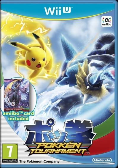 Jogo Pokemon Tournament Nintendo Wii U Novo Lacrado