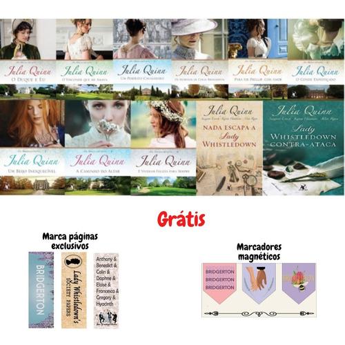Coleção Completa Julia Quinn Série Os Bridgertons 11 Livros