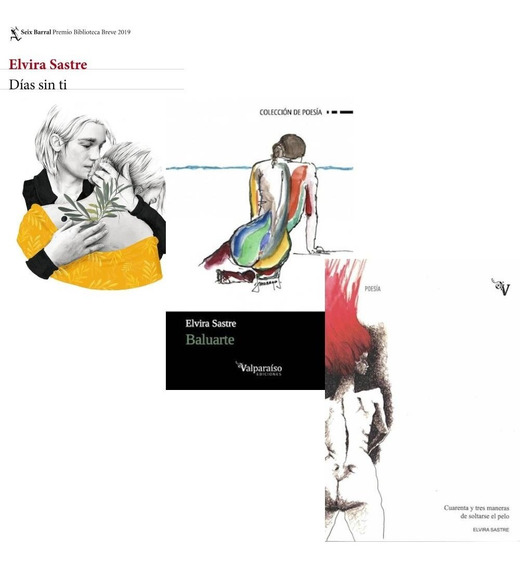Pack Elvira Sastre - Dias Sin Ti + Baluarte + Soltarse