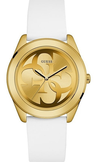 Relógio Guess Feminino Branco Dourado Original 92628lpgtdu3