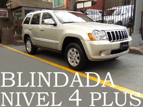 Grand Cherokee 2009 Blindada Nivel 4 Plus Blindaje Blindados