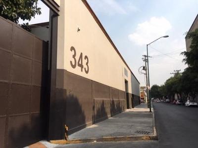 Bodega Nave Industrial En Renta, Cuauhtémoc, Ciudad De México