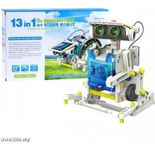 Robot Solar Kit Robotica 13 En 1 Proyecto Cod: 14 1