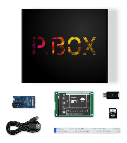 Imagem 1 de 3 de P.box Standard - Display 2.8 - P32240j28c_t01