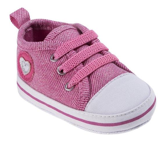 Tênis Bebê Cravinho Feminino Pimpolho 01 Ao 04