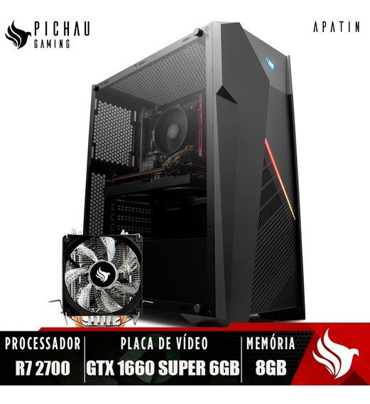 Pc Gamer Pichau Apatin, Ryzen 7 2700, Gtx 1660 Super, 8gb