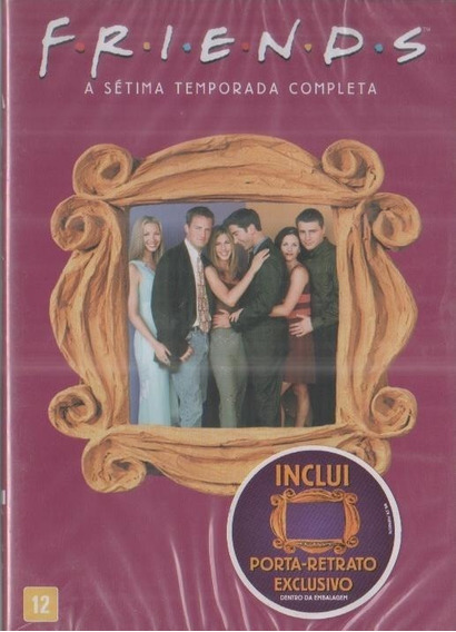 Friends 7ª Temporada - Box Com 4 Dvds - Jennifer Aniston