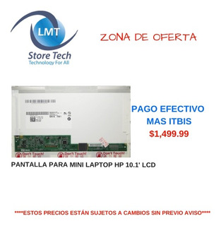 Pantalla Para Mini Laptop Hp 10.1