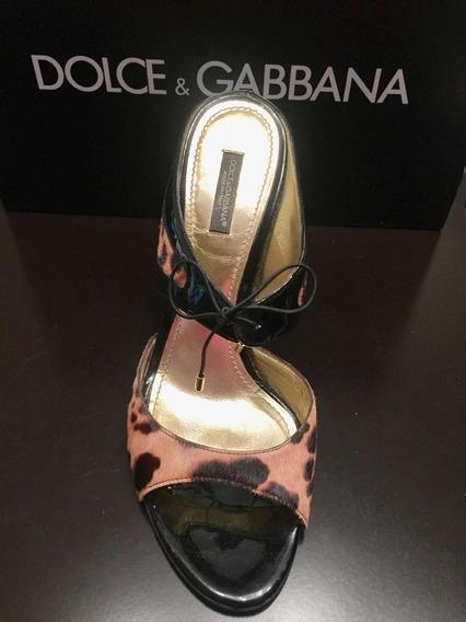 Sandalias Diseñador Dolce & Gabbana Nuevas.