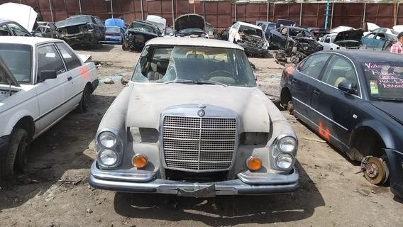 Mercedes Benz 280 Sel Diesel Clasico Partes Refacciones Pza