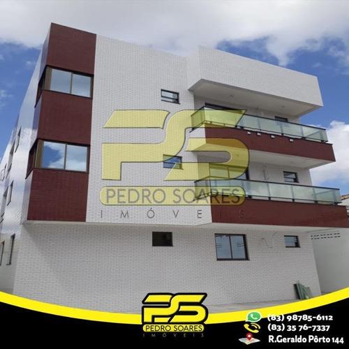 Apartamento Com 3 Dormitórios À Venda, 71 M² Por R$ 166.000,00 - Cidade Dos Colibris - João Pessoa/pb - Ap2549