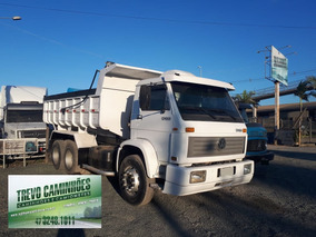 Caminhão Vw 16220 Na Caçamba