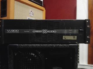 Potencia Crest Audio Vs900 - Made In Usa