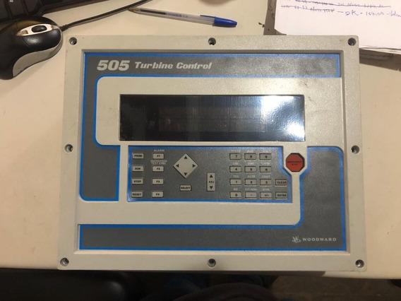 Controle Digital De Turbina Woodward 505 Part No. 9907-163.