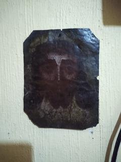 Pintura Antigua De Cristo