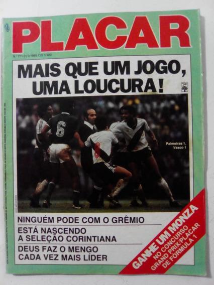 Revista Placar 771 Santos Sorocaba Goleiro Planador Tita1985