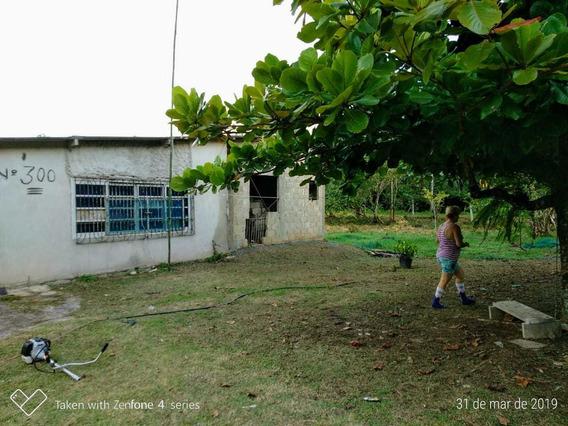 Chácara Com Casa Água , Luz , Terreno 50 Por 50 Peruíbe