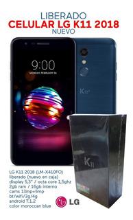 Celular Lg K11 2018 Liberado Nuevo En Caja