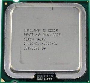 Processador Dual Core E2220, 2.40 Ghz, Sem Cooler