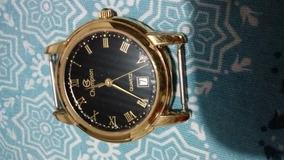 Relógio Quartz Champion Com Mostrador Data (modelo Raro)